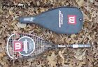 New Wilson Hyper Hammer 165G HH 165 Squash Racquet with case 3 frame deal save