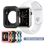 Rugged Armor 42mm Shockproof TPU Case Slim Cover Screen Protector Fr Apple Watch