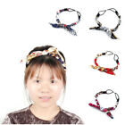 Lady Accessories Polyester Rabbit Ears Elastic Head Ornament Headband Hair Band