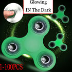 Wholesale Lots 100PCS  Fidget Hand Finger Spinner Spin Focus Stress Glowing Toys