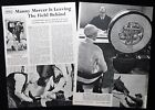 MANNY MERCER HORSE RACING JOCKEY 2pp PHOTO ARTICLE 1953