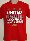 MANCHESTER UNITED EUROPA CUP FINAL T-SHIRT, STOCKHOLM 2017