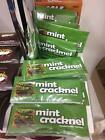 MINT ORANGE CRACKNEL CLASSIC CHOCOLATE CLASSIC CRISP CRUNCHY BAR CANDY SHEETS