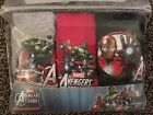 NEW MARVEL AVENGERS 3 PACK 100% COTTON BOYS BRIEFS AGE 5-6,7-8 - NEW STYLE
