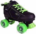 Outdoor Roller Skates Pacer GTX 500 Black and Green Sonic Wheels Men Size 1-10