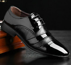 Fashion Men's Dress/Formal/Casual Flat Shoes Lace Up Leather Office Shoes