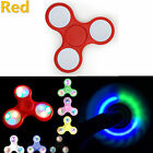LED Light Fidget Hand Spinner Torqbar Brass Finger Toy EDC Focus Gyro EDC TOY KK