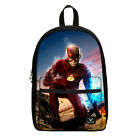 Hot Sale Personalized Boy Canvas Schoolbags The Flash Hero Backpack Rucksack Bag