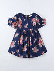 KIMOCAT Girl's Casual/Daily Floral Dress,Cotton Summer Chk