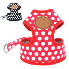 Adjustable Pet Puppy Dog Vest Harness Strap Clothes Chest Belt Traction Rope