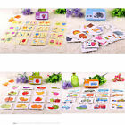 Baby Infant Early learning Head Training Puzzle Toys Cognitive Card Baby Gift
