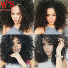 Lace front Wig Afro Deep Kinky Curly Synthetic Hair Wigs For Black Womens Short