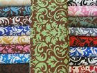 Day Care Cot Sheets Damask Fabric  42x22  OR 52X22  Elastic  100% Cotton JAM
