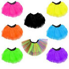 80s Fancy Dress Tutu Neon Colours - Various Sizes M-XXL