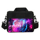 Sky Starry Print Small Thermal Cute Lunch Bags Shoulder Bag for Office School