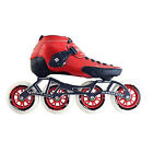 New Red Luigino Strut Inline Skate