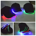 Adjustable LED Lighted up Hat Glow Club Party Baseball Hip-Hop Golf Dance Cap