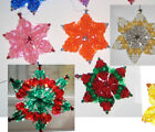 """""""Snowflake"""" kit makes 2 ornaments - choose from 9 colors and more combos NEW"""