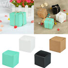 100 x Lovely Square Candy Box Wedding Party Favour Gift Boxes Birthday Decor DIY