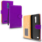 For ZTE Grand X Max 2 Kirk Zmax Pro Wallet Flip Case With ID Card Pocket Slots
