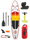 "Model IV Premium Rojo 12'0 x 6"" Inflatable Paddleboard + Deluxe SUP Package"
