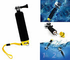 Floating Water Hand Grips Monopod Screw Mounts for GoPro Hero 2 3 3+ 4 Session