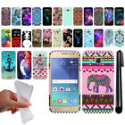 "For Samsung Galaxy J2 J200 4.7"" 1st Gen Art Design TPU SILICONE Case Cover + Pen"