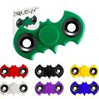 Batman Bat Fidget Hand Spinner Yellow Blue Black White Purple Green