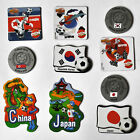 Decor Magnets Football Asia Asia Football Soccer Japan