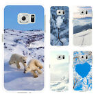Winter Snow Print Case Cover for iPhone 4 5 6 Plus Samsung Galaxy S4 S7 Striking