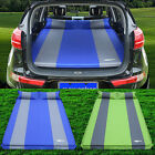 Car SUV Inflatable Travel Mattress Back Seat Sleep Rest Camping Cushion Air Bed