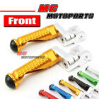 CNC MPRO 25mm Riser Front Foot Pegs For Ducati Hypermotard 1100 748 S4R S4 1299