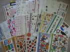 Stickers Autumn Friends Leaves Winter Dogs Kiss Love Snow Bugs Birthday Yearbook