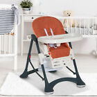 High Chair Baby Kids Infant Toddler Foldable Feeding Seat Compact Mat Belt <br/> 3 Colours❤️63L x 87W x 108H cm❤️ Adjustable seat height