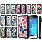 For Samsung Galaxy J1 J120 2nd Gen 2016 Hybrid Clear TPU bumper Case Cover + Pen