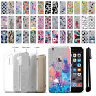 For Apple iPhone 6 4.7 inch Slim Sparkling Silver TPU Silicone Case Cover + Pen