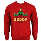 Buddy The Elf Men's Red Sweater