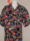 NEW Tampa Bay Buccaneers Vintage Football Hawaiian Casual Dress Shirt Men's XL