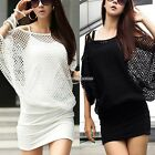 Fashion Women's Hollow Sexy Dress Ladies Summer Casual Party Mini SH01