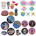 Cute Embroidered Sew Iron On Patches Badge Fabric Bag Clothes Applique Transfer