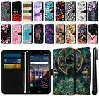 "For LG Stylo 3 Stylus 3 5.7"" Ultra Slim Canvas Wallet Pouch Case Cover + Pen"