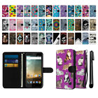 For ZTE Prestige N9132 Cheers Ultra Slim Wallet Pouch Case Cover + Pen
