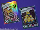 Topps DESPICABLE ME 3 movie Trading Card Game - Limited Edition cards **New**