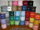 """75 YARDS Extra Wide 1/2"""" Double Fold Bias Tape **33 COLORS** BULK"""