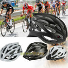 Mens' Adult Road Bike Bicycle Cycling Carbon Safety Helmet Visor Adjustable Gear