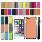 For Apple iPhone 6/ 6s 4.7 inch Solid Color Slim Fit Hard Back Cover Case + Pen