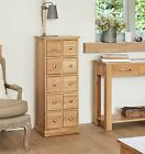Oxford Solid Oak Furniture Cd Dvd Storage Chest Cabinet