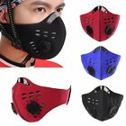 Mens Anti Dust Pollution Half Face Mask Filter Cycling Motorbike Motorcycle NEW