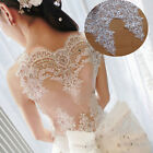 Lace Edging Trim Floral Ribbon Sequins Embroidery Wedding Bridal Sewing Applique