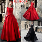 Womens Bridesmaid Long Evening Party Ball Prom Gown Cocktail Formal Dress USA